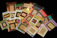 Lizzie Kate COUNTED CROSS STITCH PATTERNS You Choose from Variety WORDS PHRASES