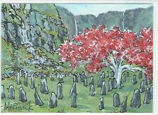Game of Thrones Inflexions Sketch Card 1/1 Warren Martineck