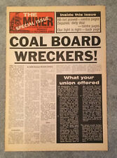 1972 National Union of Mineworkers NUM Trades Union Poster A3//A2//A1 Print