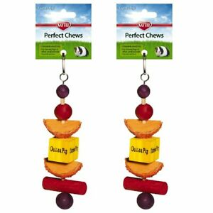 Kaytee Superpet Perfect Chew Guinea Pig Super Pet Small Animal Toy Lot Of 3