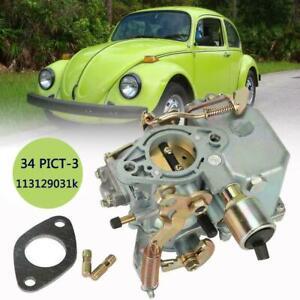 Car Carburetor for 1971-1979 Volkswagen Beetle & Super Beetle 1.6L H4 113129031k