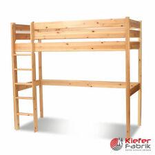 Grüne Kinder-Bettgestelle ohne Matratze mit 200 cm zum Zusammenbauen