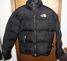 The North Face Black  700 Fill Puffer Down Jacket Mens Size Large Puffy - NICE!