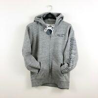 New Hollister Men's Full Zip Hoodie Sweatshirt Grey M, L, 2XL by Abercrombie