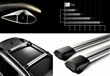 Lockable AeroWingBar Roof Rack Cross Bar Set Fits Suzuki SX4 2006–2014