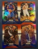 2019-20 Prizm Basketball Red White Blue RWB Refractor Parallel Pick Your Card