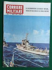 Rivista/Magazine CORRIERE MILITARE n.22/1963 (ITA) CACCIATORPEDINIERE IMPAVIDO