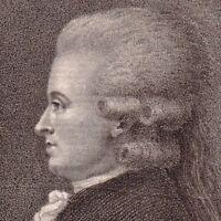 Portrait XVIIIe Jean Jacques Duval D' Eprémesnil Magistrat Politique Révolution