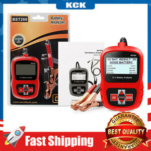 Car Battery Load Tester 12V CCA Automotive Bad Cell Test Digital Analyzer