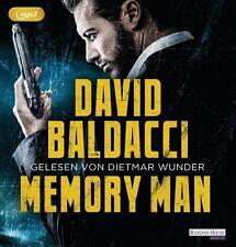 Memory Man von David Baldacci (2016, MP3-Hörbuch)