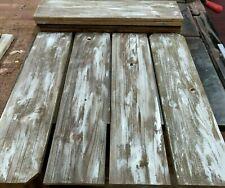 8 Reclaimed Wide Cedar Wood Boards Rustic Barn Style Lumber Crafts 22