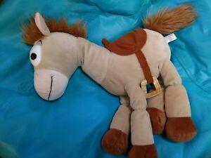 "Large 21"" Disney Parks Toy Story Stuffed Animal BULLSEYE Plush Horse Pixar NWOT"