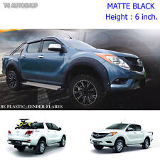 For Mazda Bt-50 Pro 4Dr Off-Road 13 14 15 Matte Nuts Fender Flares Wheel Arch 6""