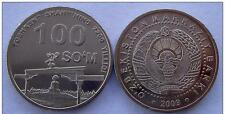 UZBEKISTAN: 100 SOM 2009 UNCIRC. TASHKENT COMMEM.  #1