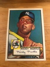 1952 Mickey Mantle Baseball Trading Cards For Sale Ebay