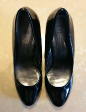 Limited Collection From M&S Black Patent Stilleto Heels Size 3.5