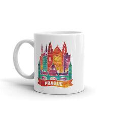 Prague Skyline haute qualité 10 oz (environ 283.49 g) Café Thé Tasse #7895