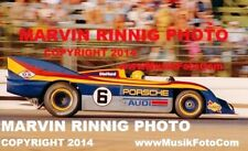 """MARK DONOHUE PHOTO PORSCHE 917-30K 1973 CAN AM 911, 356, 912, CARRERA, RS, 8x11"""""""