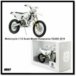 Husqvarna TE300I 2019 - 1:12 Scale Modell Motocross Motorrad