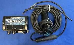 Airmar CS4500 Ultrasonic Speed Instrument Sensor Transducer W/ Interface Box