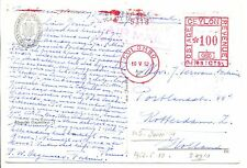 NEDERLAND-S.M.N. 1952 = M.S.SUMATRA  = AK SHIP  FROM CEYLON