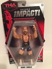 WWE Kurt Angle wrestling figure Deluxe Toy NXT TNA Impact Flashback Mafia HOF DX
