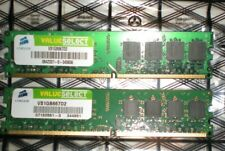 2GB SET -1GB X 2 PC2-5300U DDR2-667 240 PIN DESKTOP RAM MEMORY -  Free Shipping