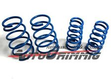 Lowering Low Coil Springs Set for 04-07 Mitsubishi Lancer Ralliart BLUE 05 06