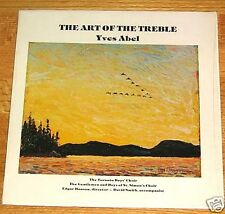 ART OFTHE TREBLE Toronto Boys Choir / St. Simons RARITY! CANADA 1976 LP Vinyl