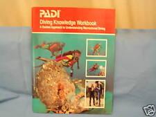 PADI Diving Knowledge Workbook SCUBA 1996