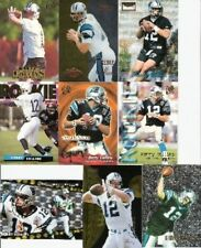 1995 95 Fleer Kerry Collins RC Tennessee Titans Giants Carolina Panthers Lot