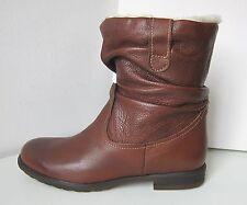Tamaris Stiefelette Stiefel cognac braun 36 Fell Stiefel Boots brown bootee warm