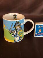 Playmobil Sammeltasse Ritter Tee Kaffee Porzellan selten #1476