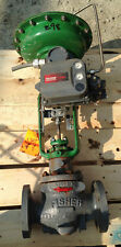 FISHER TYPE ED 2 INCH  CLASS 300  657 ACTUATED VALVE
