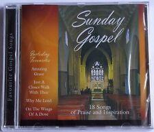 SUNDAY GOSPEL CD NEW Sealed 18 Songs of Praise and Inspiration