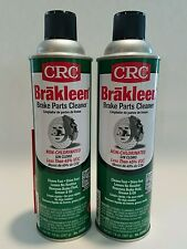CRC BRAKLEEN NON CHLORINATED, 2 CANS, BRAKE CLEANER, FREE SHIPPING