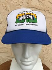 VTG NCHA Hat 1991 Cutting Horse Association Jockey Cap Trucker Canfield Ohio