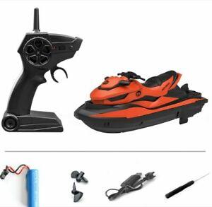 2.4G Mini RC Jet Ski Radio Remote Control Boat Electric Speedboat Water Kid Toy
