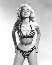 BETTY BROSMER 1950s MODEL PIN UP - 8X10 PUBLICITY PHOTO (AZ584)