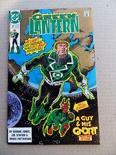 Green Lantern 9 .  Guy Gardner 1st Solo Story - DC 1991 -  FN / VF