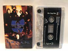 Wu-Tang Clan C.R.E.A.M. Cassette Single RZA Method Man Ghostface GZA Raekwon ODB