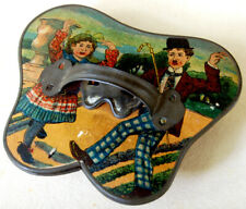 1920 Japan Antique Toy Accordion Charlie Chaplin Japanese Whistle Musical Game