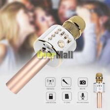 Ws-858 Wireless Karaoke Microphone Usb Ktv Player Bluetooth Mic Speaker Q37 Gold