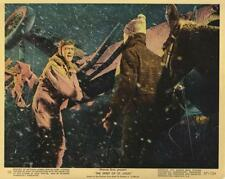 """SPIRIT OF ST. LOUIS""-ORIGINAL PHOTO-COLOR-JAMES STEWART-IN STORM"