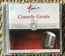 CD: COMEDY GREATS Vol 2 Original Recordings Peter Cook, Lenny Bruce NEW / Sealed