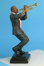 "Bellagio Creations Jazz Trumpet Player Statue. 11.5"" Tall."