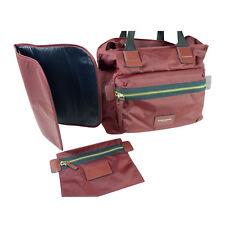 NWT Marc Jacobs Nylon Biker Diaper Baby Bag Tote M0008297  in Rubino $295