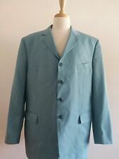 Enzo Tovare Collection Italy Baby Blue Blazer Jacket Sz 58