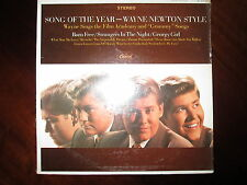 Wayne Newton Song of The Year LP EX/NM OG Pressing Capitol ST 2714