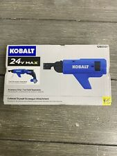 Kobalt 24V Max Collated Drywall Screwgun Attachment FREE SHIPPING